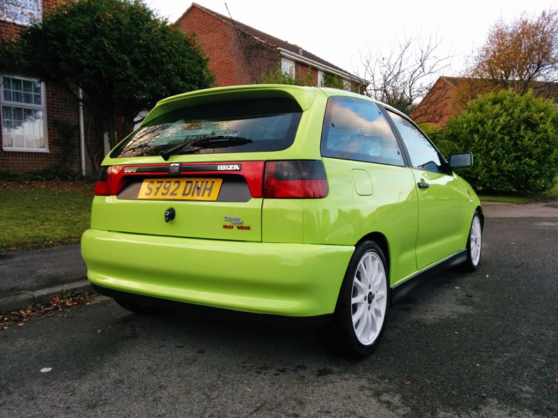 1998 kiwi green seat ibiza gti cupra 2 0 16v fully restored. Black Bedroom Furniture Sets. Home Design Ideas